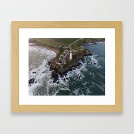 pigeon point lighthouse #1 Framed Art Print
