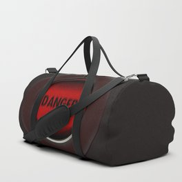 Danger button Duffle Bag