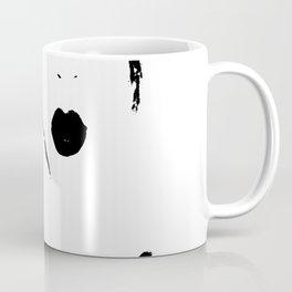 Girl with one eye Coffee Mug