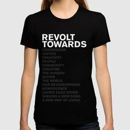 Revolt Towards (White) T-shirt