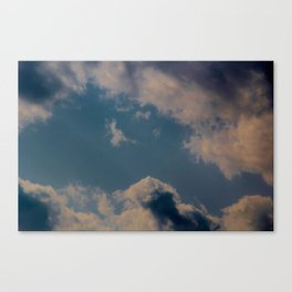 Breathing Clouds  Canvas Print