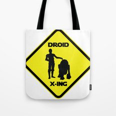 Droid Crossing Tote Bag