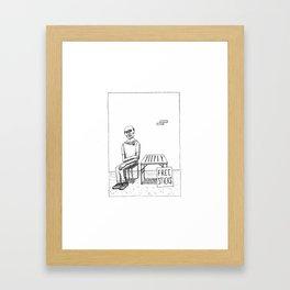 Free Sticks Framed Art Print