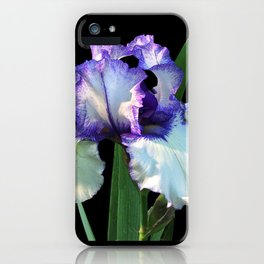 Iris 'Freedom Song' on black iPhone Case
