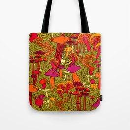 Mushrooms in the Forest Tote Bag