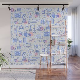 The fans pattern Wall Mural