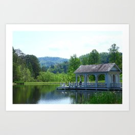 The Boat House Art Print