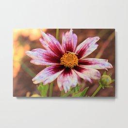 Hannah's Flower & Friend Metal Print