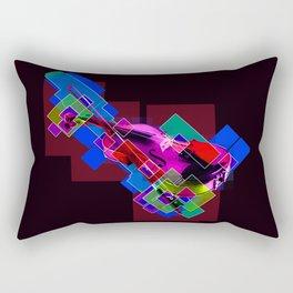 Sounds of music. Violin. Rectangular Pillow