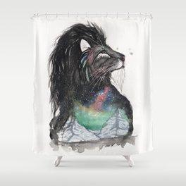 Realis the Aurora Lion. Shower Curtain