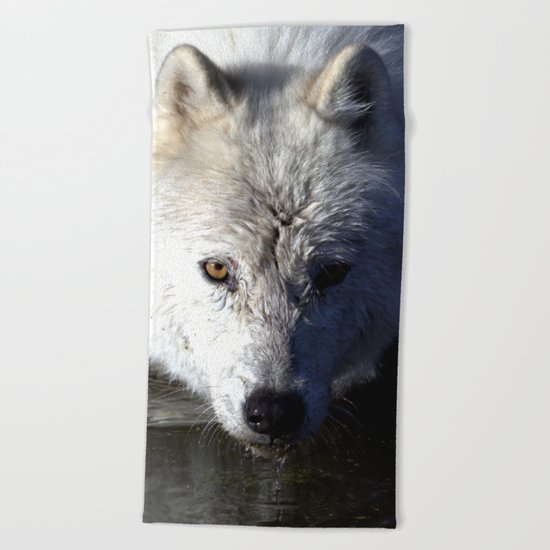 Quenched Beach Towel