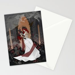 Queen of the Underworld Stationery Cards