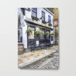 The Mayflower Pub London Art Metal Print