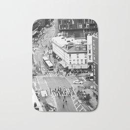 Street people in New York Bath Mat