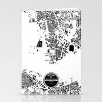 hong kong Stationery Cards featuring Hong Kong by Maps Factory