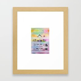 Rainbow Home Framed Art Print