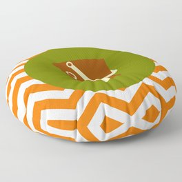 Sand Castle Bucket - Cute Summer Accessories Collection Floor Pillow