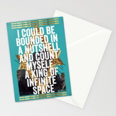 Hamlet Quote Stationery Cards