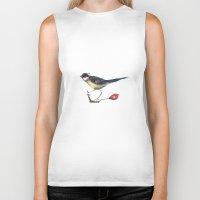 birdy Biker Tanks featuring Birdy by Ivanushka Tzepesh