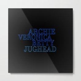 Riverdale Core Metal Print