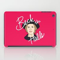cassia beck iPad Cases featuring Beck the Halls by Chelsea Herrick