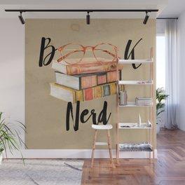 Book Nerd Wall Mural