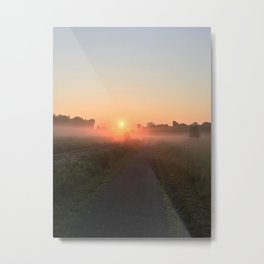 Misty Morning Ghosts #1 Metal Print
