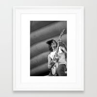 pierce the veil Framed Art Prints featuring Perry/Pierce The Veil by Daren Cornell