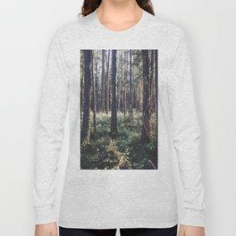 Pine Forest in Sunlight Long Sleeve T-shirt