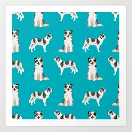 Border Collie dog breed gifts collies herding dogs pet friendly Art Print