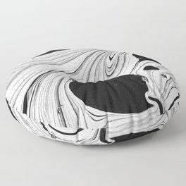 Monochrome I Floor Pillow