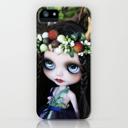 ISOBEL FAWN (Ooak BLYTHE Doll) iPhone Case