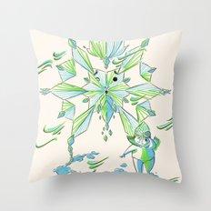 Snoflinga Throw Pillow