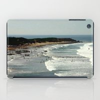 rowing iPad Cases featuring Torquay Heads - Rowing Regatta - Australia by Chris' Landscape Images & Designs