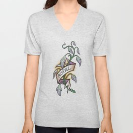 Royal Elfroot Unisex V-Neck