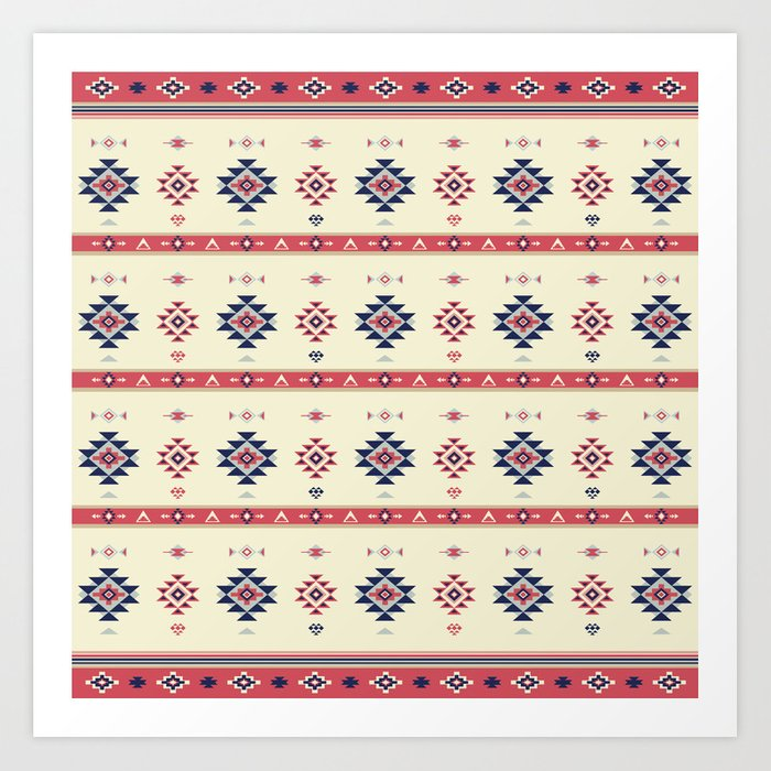 AFE Tribal Pattern2 Art Print