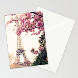 Paris in April, April in Paris Stationery Cards
