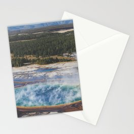 Grand Prismatic Spring Stationery Cards