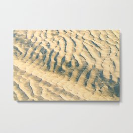 Sand-waves at De Koog Metal Print