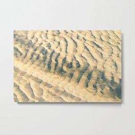 Sand-waves at De Koog Metal Print