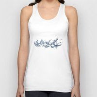 calligraphy Tank Tops featuring Calligraphy by Margheritta