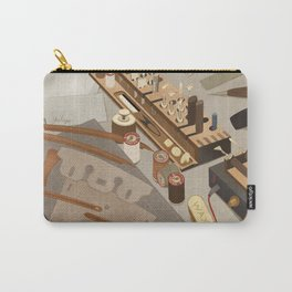 Leather tools Carry-All Pouch