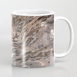 Brown Marble Texture Coffee Mug