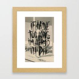 THE KINKS Framed Art Print