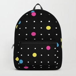 Pin Points CMYK Black Backpack