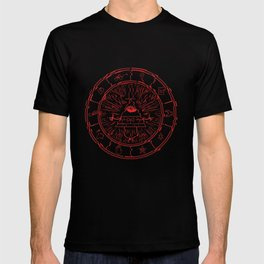 Gravity Falls Bill Cipher Wheel- disorderd T-shirt