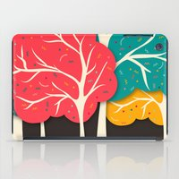 jazzberry iPad Cases featuring Happy Forest by Danny Ivan