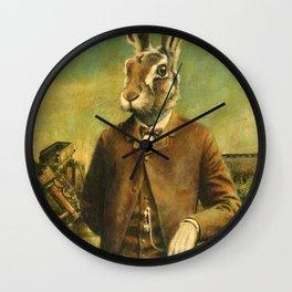 Victorian Hare Wall Clock