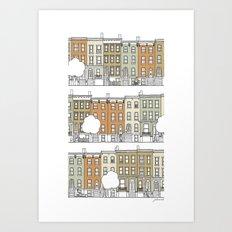 Brooklyn (color) Art Print