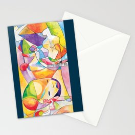 Divergent Threads, Lucent Memories Stationery Cards